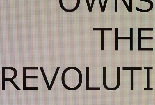 86/WHO OWNS THE REVOLUTION?