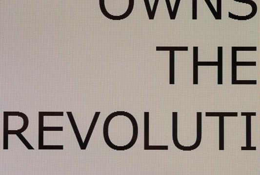 76/WHO OWN STHE REVOLUTION