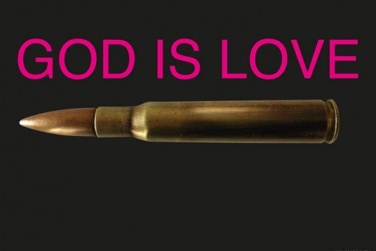 3/GOD IS LOVE/BLACK